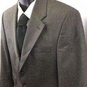 Lauren Ralph Lauren 40s Wool Sport Coat 2 Button